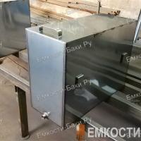 Бак из нержавейки для бани на 105 литров (700х500х300)-1