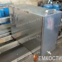 Бак из нержавейки для бани на 105 литров (700х500х300)-2