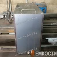Бак из нержавейки для бани на 105 литров (700х500х300)-3