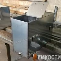 Бак из нержавейки для бани на 105 литров (700х500х300)-5