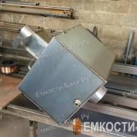 Бак из нержавейки для бани на 127 литров на трубе, (62-52-25)-6
