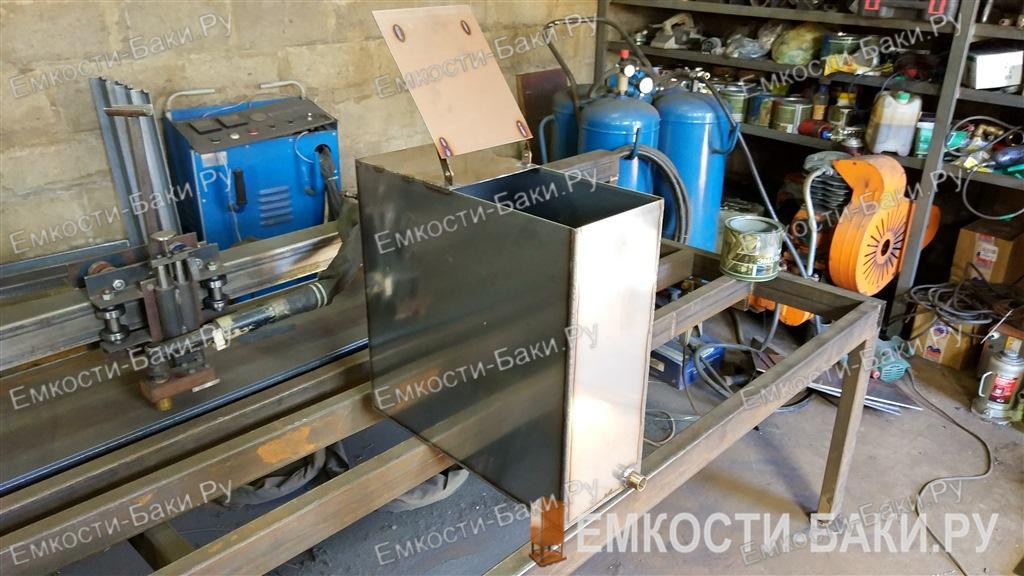 Бак из нержавейки для бани на 50 литров (50-50-20)-4