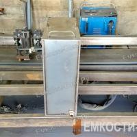 Бак из нержавейки для бани на 50 литров (50-50-20)-2