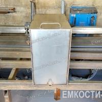 Бак из нержавейки для бани на 75 литров (50-50-30)-2