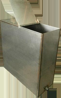 Бак на площадку на печь